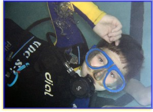 kids scuba diving seal team
