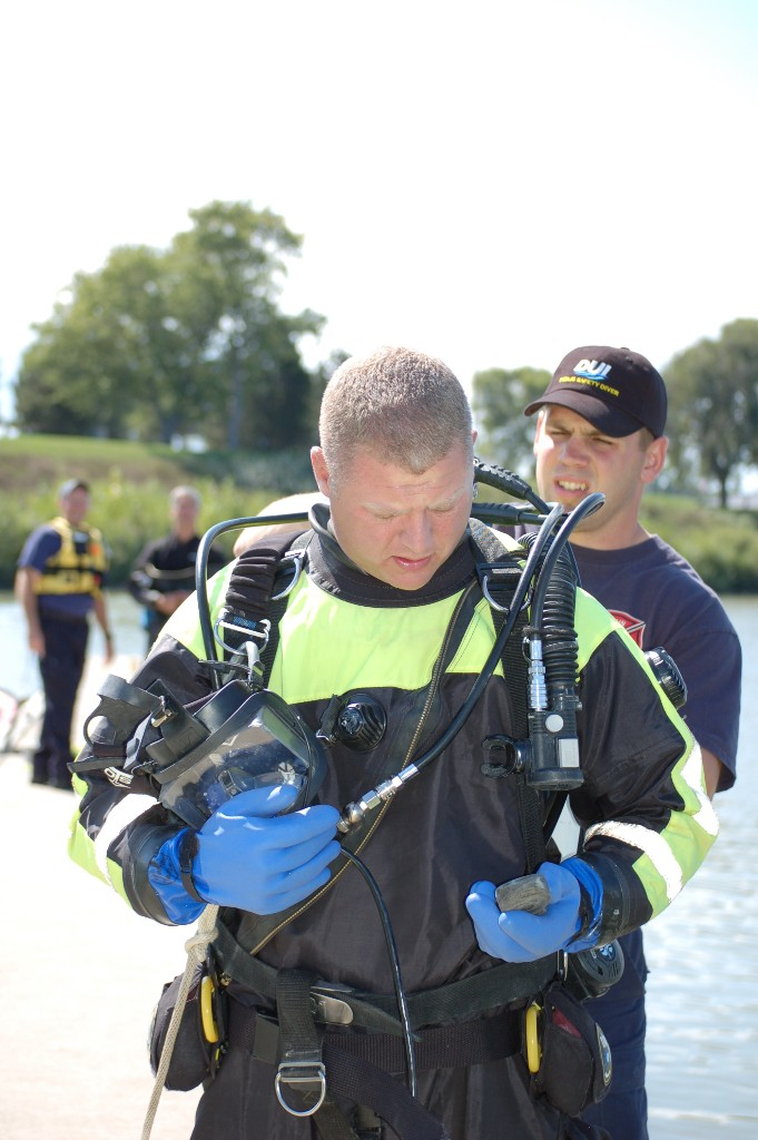 Dry suit Public Safety Diving